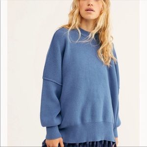 New Free People Easy Street Tunic Sweater